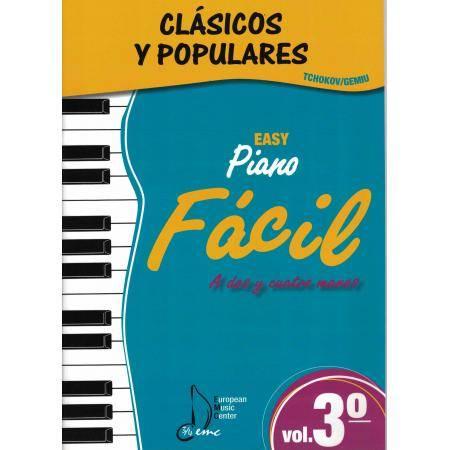 ALBUM - CLASICOS Y POPULARES** V.3 FACIL (TCHOKOV/