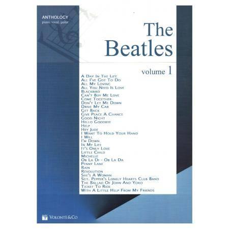 THE BEATLES ANTOLOGIA VOL 1 PIANO