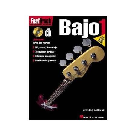 FAST TRACK VOL 1 BAJO ELECTRICO TAB HAL LEONARD