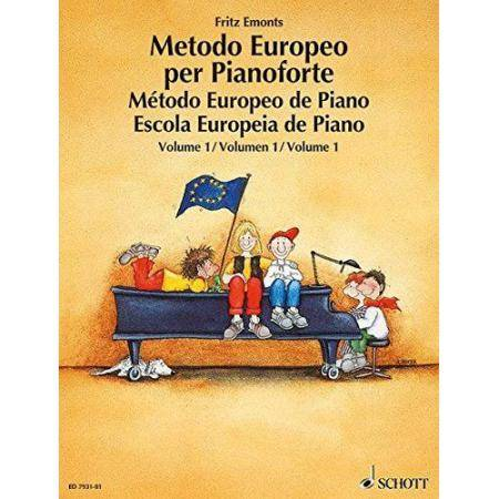 EMONTS F. - METODO EUROPEO V.1 -