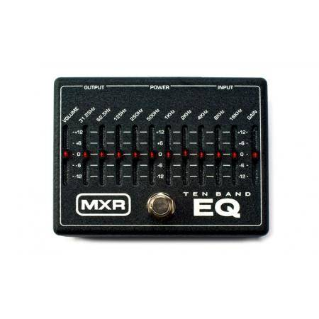 Pedal Dunlop MXR M108 EQ gráfico 10 bandas