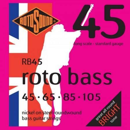 Cuerda Bajo ROTOSOUND RB45 Juego