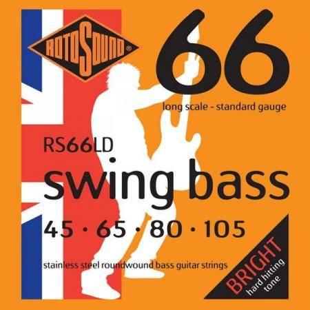 Rotosound Cuerdas Bajo RS66LD Swing Bass 045-105