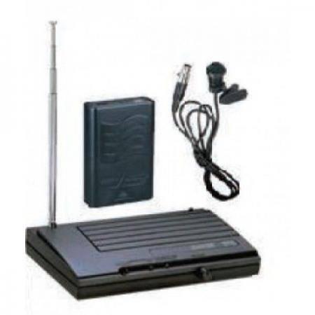 SISTEMA VHF MICROFONA INALMBRICA VHF 18 Sistema Lavalier completo