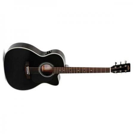 Sigma 000MC1STEBK+ Guitarra Electroacústica