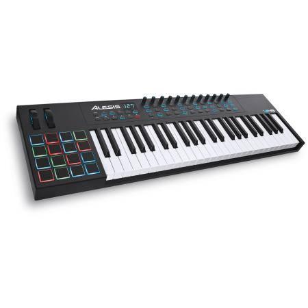 ALESIS Controlador VI49 USB MIDI de 49 Teclas y 16 Pads