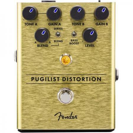 Fender Pugilist Distortion Pedal Guitarra