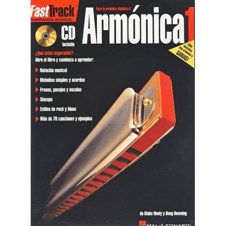 DOWNING - FAST TRACK ARMONICA V.1 (+CD) -