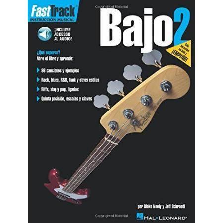 NEELY BLAKE - FAST TRACK BAJO 2 + CD -