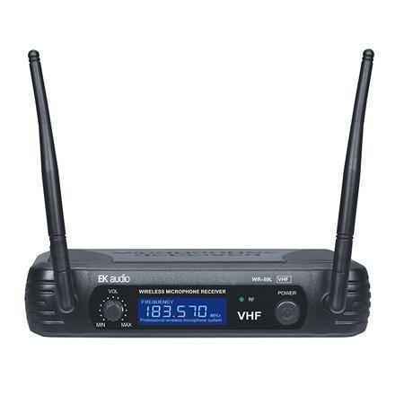 Micrfono Inalmbrico de solapa EK audio Sistema WR 69L VHF