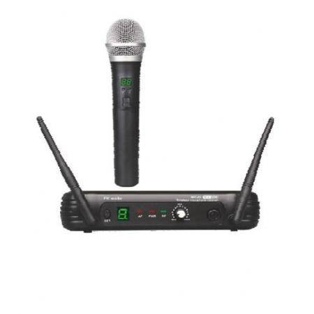 Micrfono Inalmbrico de mano EK audio Sistema WR 25 UHF