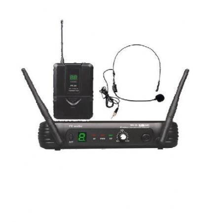 Micrfono Inalmbrico de cabeza EK audio Sistema WR 25 UHF