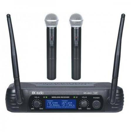 EK audio sist inalam dos Micros mano WR69LD