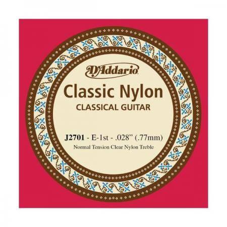 D'addario Cuerda SUELTA Guitarra Clásica  J-27-01