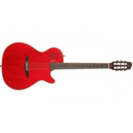 Godin MultiAc Steel Duet Ambiance Trans Red HG
