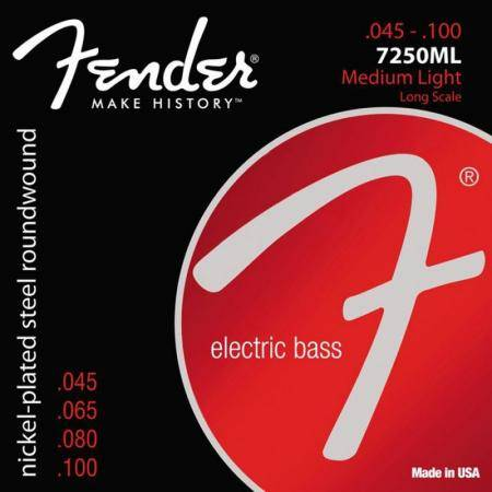 Fender Cuerdas Bajo Super 7250ML Long Scale 45-100