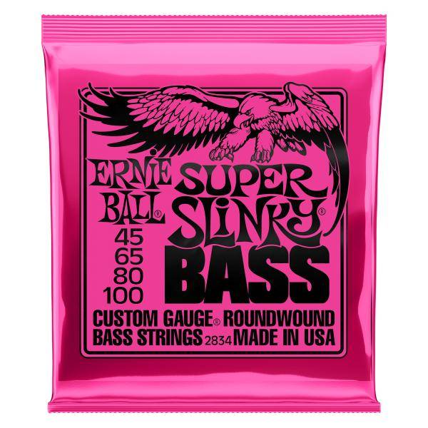 Ernie Ball EB2834 Super Slinky Cuerdas Bajo