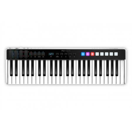 Compact production station 24 bit 96kHz Audio interface 49 key keyboard controller for iOS