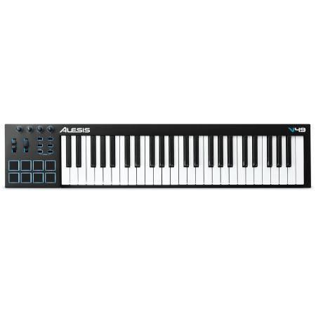 ALESIS TECLADO CONTROLADOR MIDI V49 DE 49 TECLAS