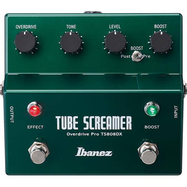 IBANEZ TS808DX T.SCREAMER+BOOSTER