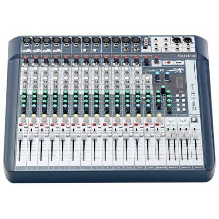 SOUNDCRAFT SIGNATURE 16 MESA DE MEZCLAS