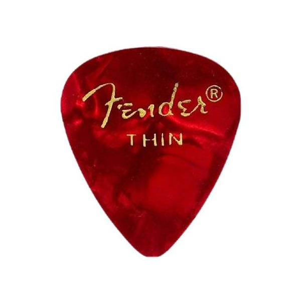 FENDER 351 RED MOTO GROSS THIN PÚA