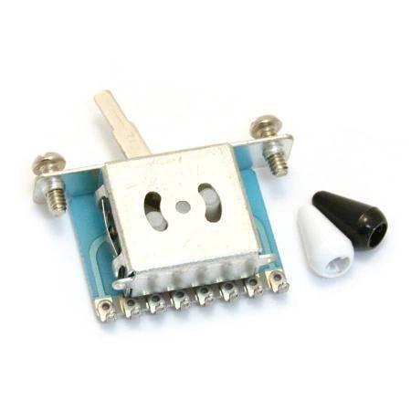 RP-188BW Selector Strato blanco/negro RETROPARTS