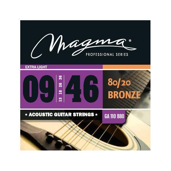 MAGMA GA110B80 JUEGO DE CUERDAS DE GUIT. ACÚSTICA