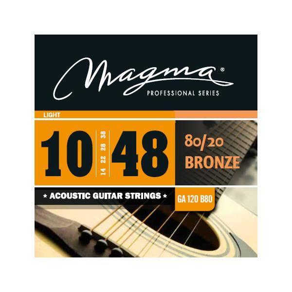 MAGMA GA120B80 JUEGO DE CUERDAS DE GUIT. ACÚSTICA