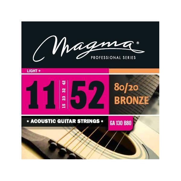 MAGMA GA130B80 JUEGO DE CUERDAS DE GUIT. ACÚSTICA