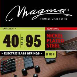 MAGA SET STRINGS BAJO-ELEC NICKEL P/STEB