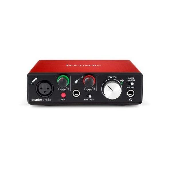 FOCUSRITE INTERFACE SCARLETT SOLO 2ND GEN
