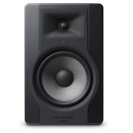M-AUDIO MONITOR ESTUDIO BIAMPLIFICADO BX8D3 70W
