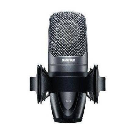 Micrófono condensador shure pg-42