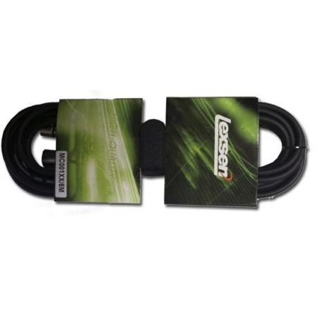 Cable XLR 5mts Lexsen MC001XX/5