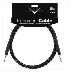 CABLE NEGRO FENDER CUSTOM SHOP DE 1,5M