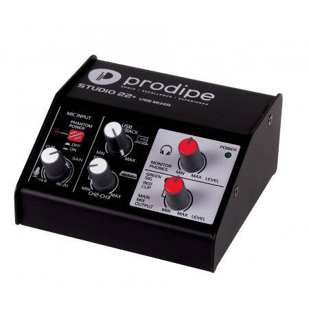 Prodipe Studio 22 Plus Interface de sonido