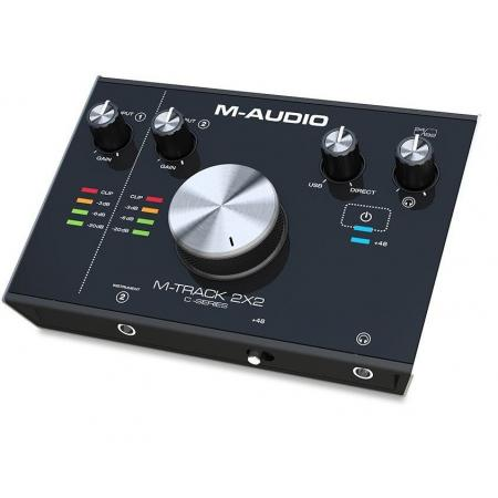 M-AUDIO M-TRACK 2X2 INTERFACE AUDIO