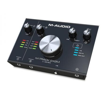 M-AUDIO INTERFACE AUDIO M-TRACK 2X2 MIDI