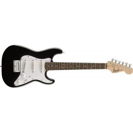 Squier Mini Stratocaster V2 BLK Guitarra Eléctrica