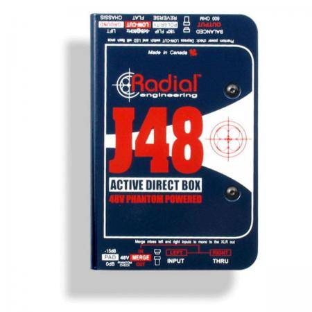 RADIAL J48 DI ACTIVA