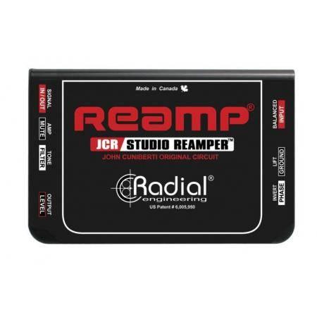 RADIAL JCR CAJA DE REAMPLIFICACIÓN PARA ESTUDIO