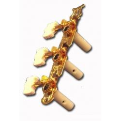 Clavijero Guitarra Clásica Dorados