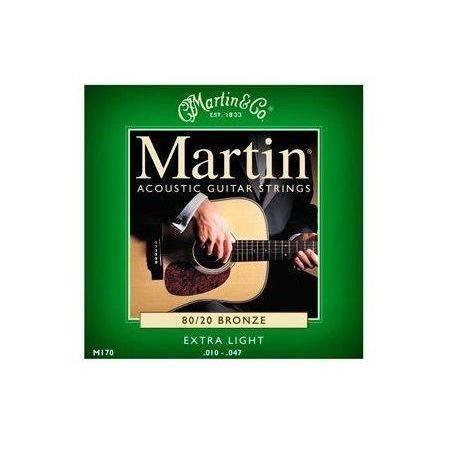 Martin Bronce 10-47 Cuerdas Guitarra Acústica