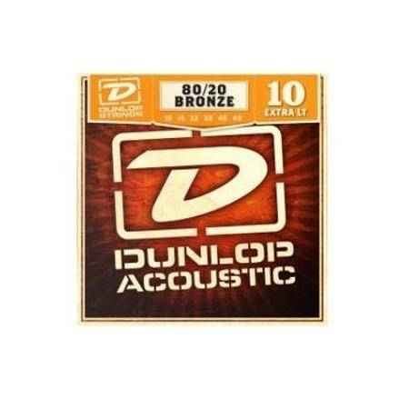 Juego Dunlop Acústica Bronce 10-48