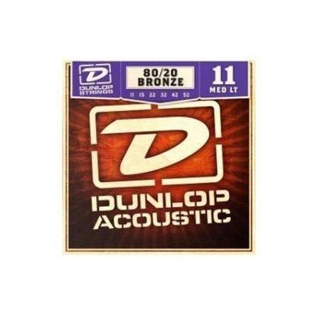 Juego Dunlop Acústica Bronce 11-52
