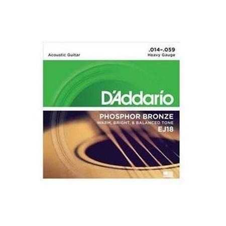 D'addario Ej-18(014-059) Juego Cuerdas Guitarra Acústica