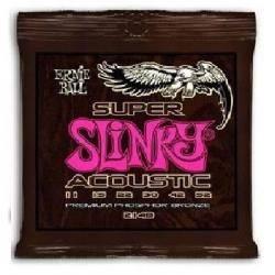 ERNIE BALL EB 2148 SUPER SLINKY ACOUST CUERDAS GUI