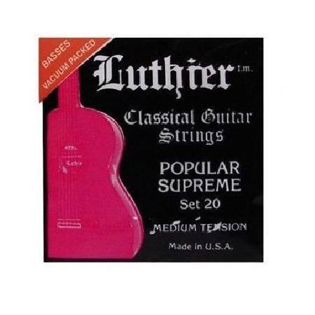 Juego Luthier Clásica 20 Popular Supreme