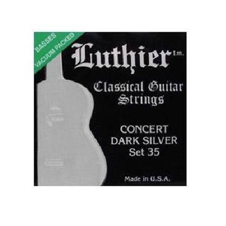 Juego Luthier Clásica 35 Concert Dark Silver